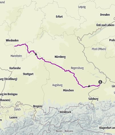 Karte / 2015 Passau-Pfarrkirchen-Rüsselsheim