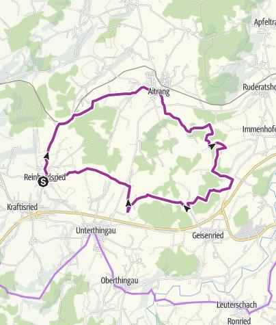 Karte / Große Elbseerunde