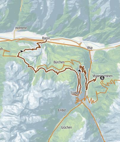 Map / KtVS Visperterminen | Zeneggen | Eischoll | Raron