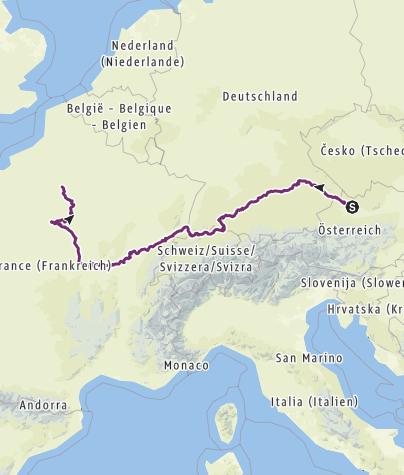 Karte / Puchenau - Paris