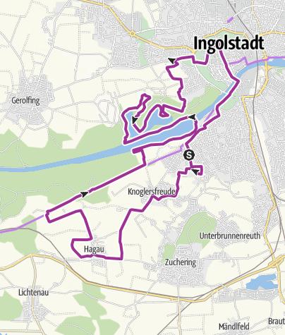 Karte / 29. September 2015 Ingoradler Volksfesttour