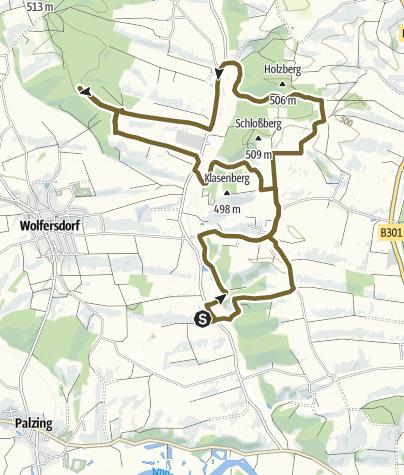 Karte / Kutschfahrt 01.10.2015