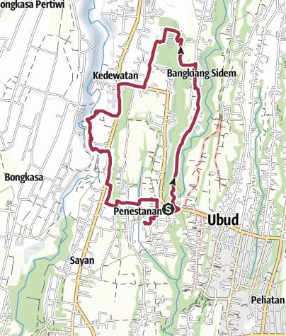 Map / Ubud