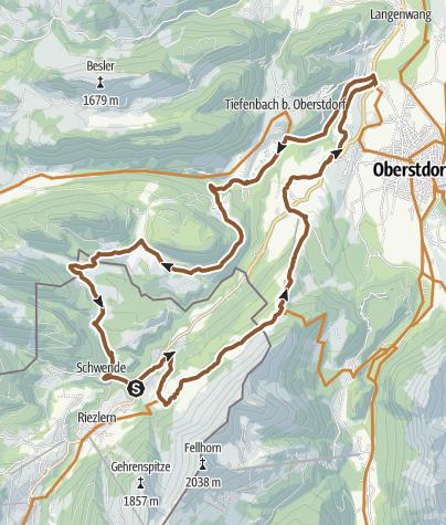 Karte / Kleiner Grenzverkehr