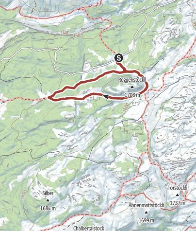 Karte / Urwaldspur Bödmeren