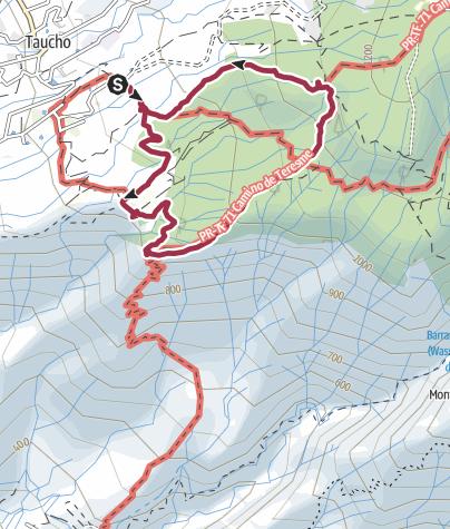 Karte /  2. November 2015 La Quinta Rundwanderung