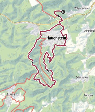 Karte / Burgen-Halbmarathon