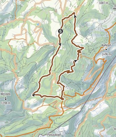 Karte / ENDURO Doagl-Alm