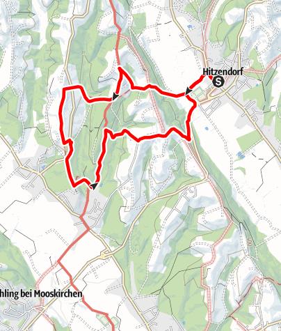 Karte / Österreich Weiß