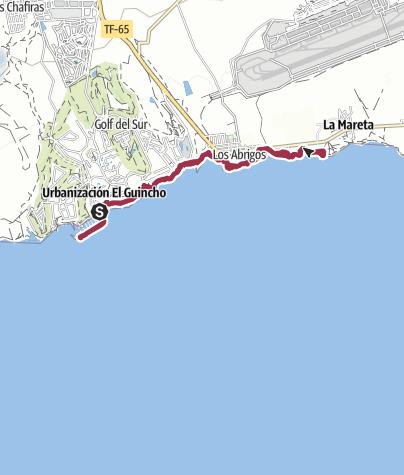 Karte / 13. November 2015 Küstenwanderung Tenerffa Süd ab Marina San Miguel
