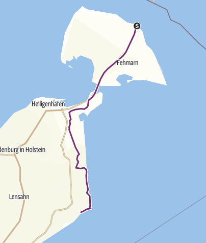 Map / Cooperide: Rødby - Kellenhusen