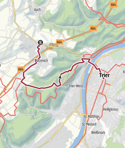 Karte / Glühweinwanderung