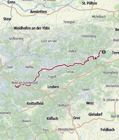 Map / Arc Alpin 2015 - Styrie partie 1