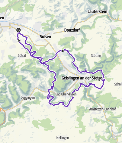 Karte / Albtrauf mini