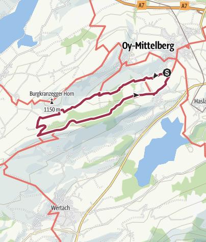 Karte / Mühlbachweg - Elleghöhe