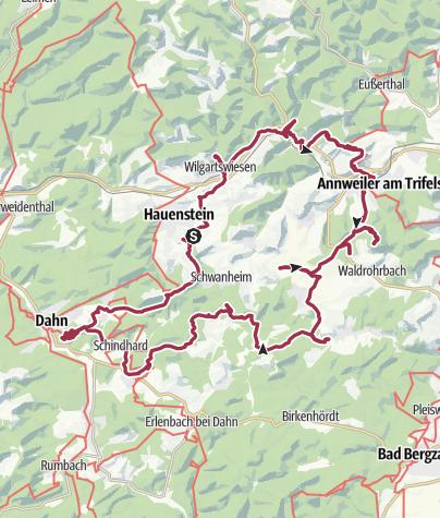 Karte / Ironscout 2011 - Hauenstein
