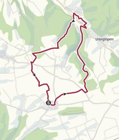 Karte / Rund um Hasselbach