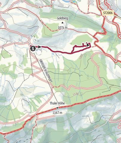 Karte / Tuffenmoos -Moorwanderweg