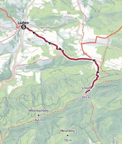 Karte / Schöpfl