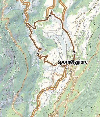 """Map / 801 """"Tour Maurina - Tre Tini"""""""