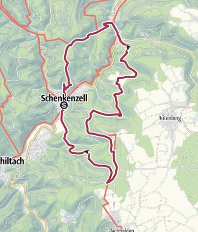 Karte / Rundwanderung Schenkenzell