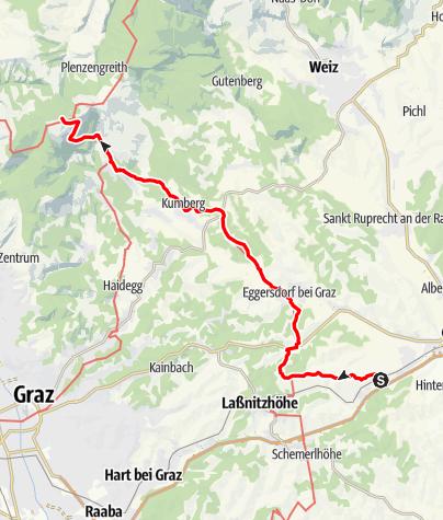 Karte / GUW - Grazer Umlandweg Teil 1