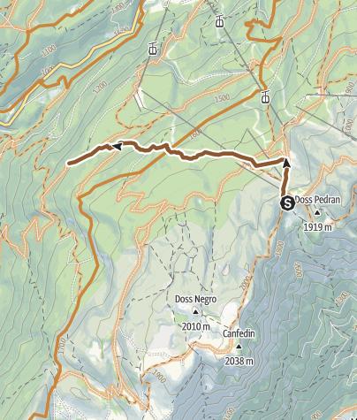 """Cartina / 811 """"Carton's Trail"""""""