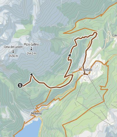 "Cartina / 812 ""Ude's trail"""