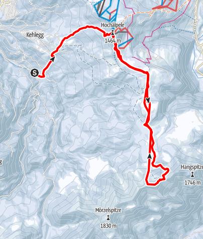 Karte / Skinfit Guntenlauf - lange Strecke