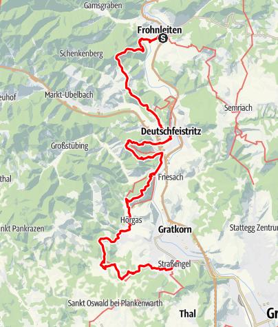 Karte / GUW Grazer Umlandweg Teil 3