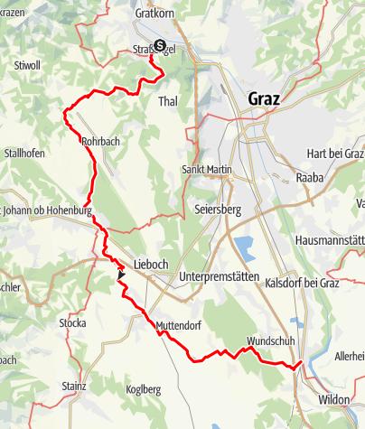 Karte / GUW Grazer Umlandweg Teil 4