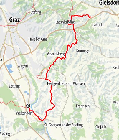 Karte / GUW Grazer Umlandweg Teil 5