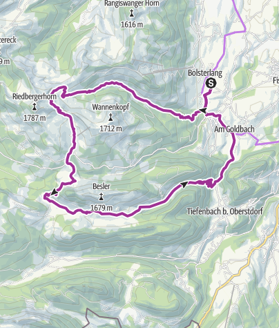 Map / Die Täler der Hörnerdörfer