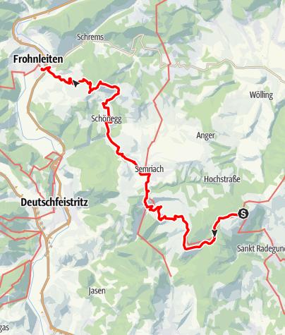 Karte / GUW - Grazer Umlandweg Teil II