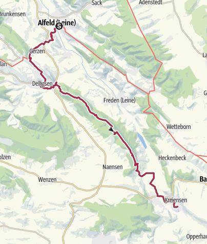 Carte / Alfeld Delligsen Kreiensen