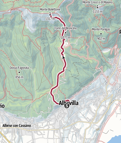 Map / Trofeo Jack Canali