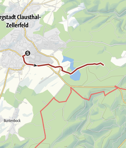 Karte / Stempel 127 - Jägersbleeker Teich