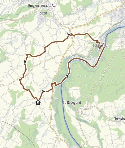 Karte / Astner Feierabend Tour