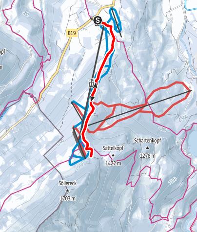Karte / Söllereck