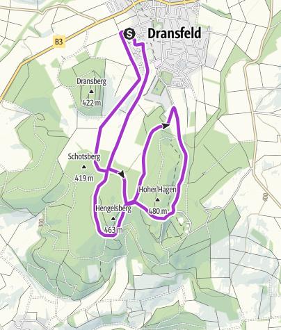 Karte / ASV Laufrunde Hoher Hagen