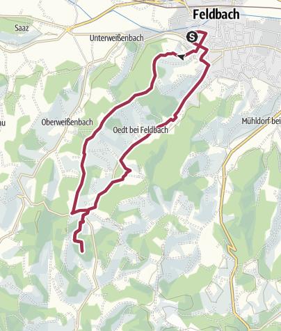 Karte / Privatroute L1 03