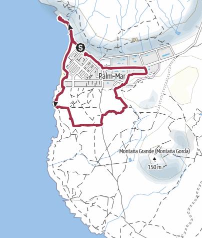 Karte / 21. Februar 2016 Familienwanderung Palm Mar
