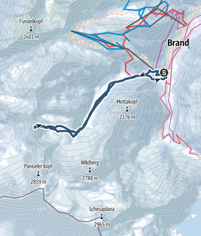 Karte / Oberzalimkopf (2340)