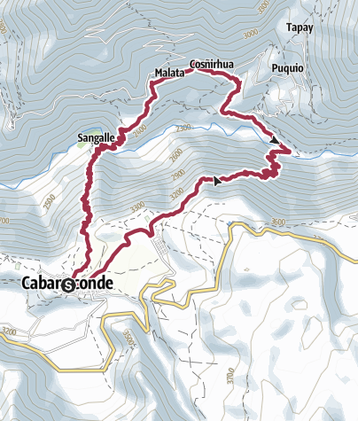 Map / Colca Canyon two days