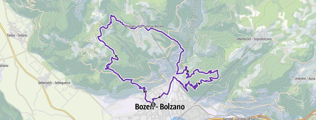Hartă / Programmazione itinerario del 27 febbraio 2016