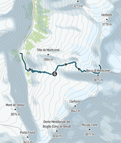 Map / EUROTREK 2016_GRAN PARADISO_DEN DRUHÝ
