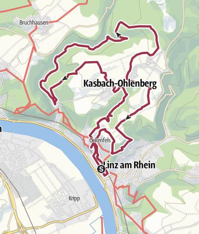 Karte / LZ13+LZ14+LZ15 um Kasbach-Ohlenberg