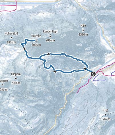 Karte / Kanisfluh