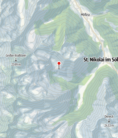 Karte / Kaltherbergalm 1.608m