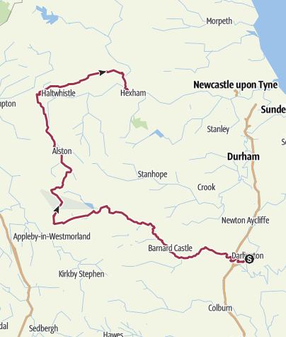 Karte / Landmark Tour (England)